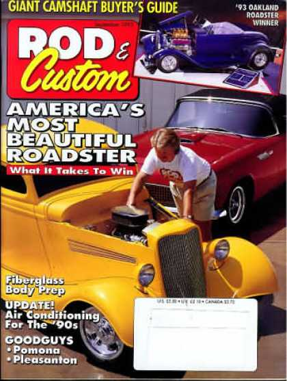 Rod & Custom - September 1993