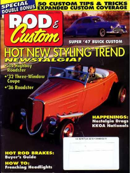 Rod & Custom - January 1994