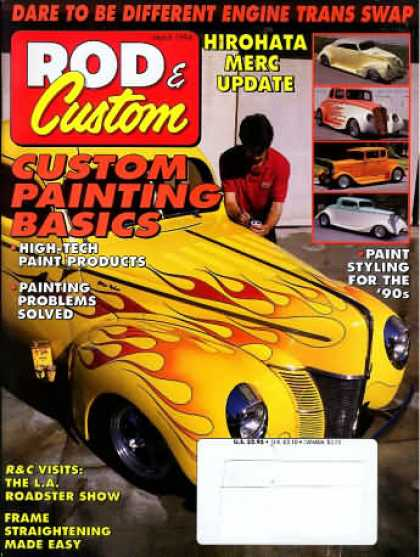 Rod & Custom - March 1994