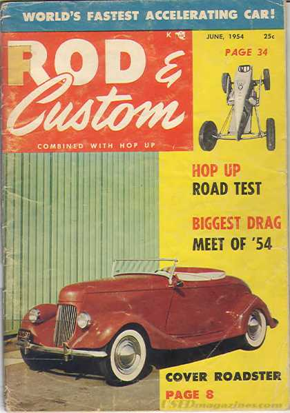 Rod & Custom - June 1954