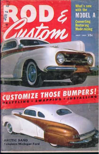 Rod & Custom - July 1957