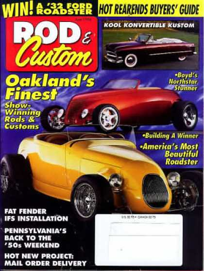 Rod & Custom - June 1994