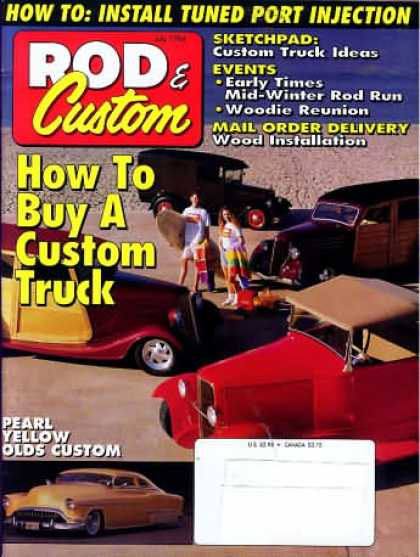 Rod & Custom - July 1994