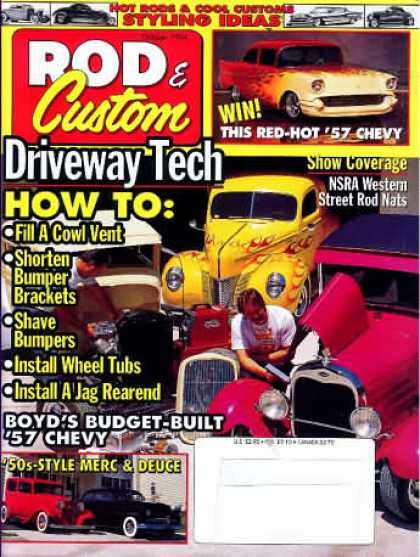 Rod & Custom - October 1994
