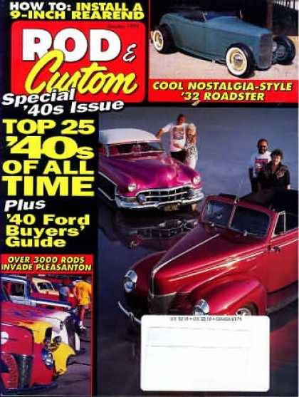 Rod & Custom - January 1995