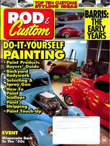 Rod & Custom - April 1995
