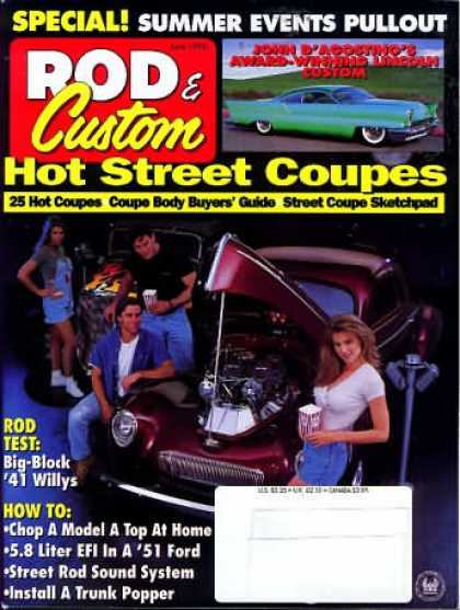 Rod & Custom - June 1995