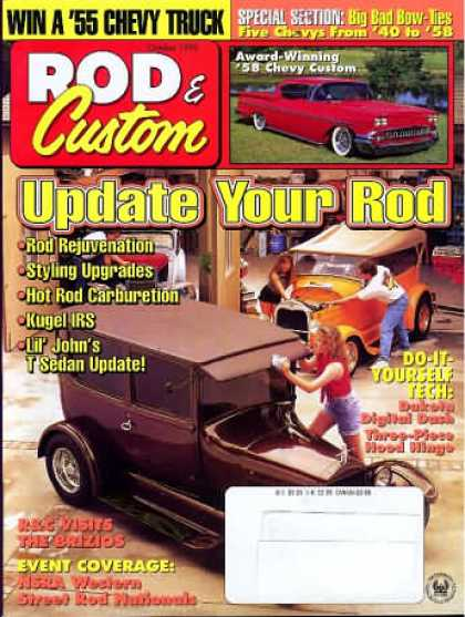 Rod & Custom - October 1995