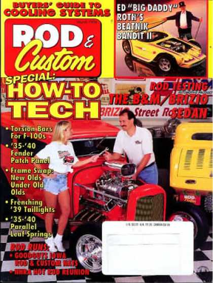 Rod & Custom - March 1996