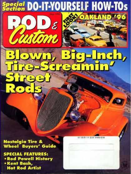 Rod & Custom - May 1996