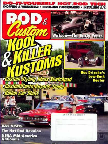 Rod & Custom - June 1996