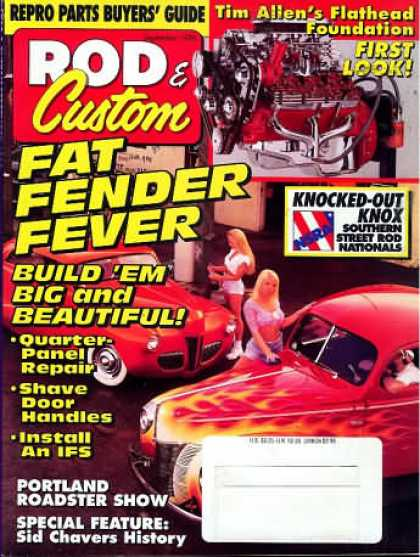 Rod & Custom - September 1996