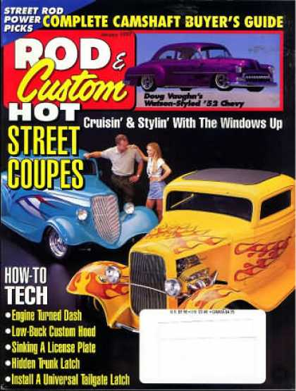 Rod & Custom - January 1997