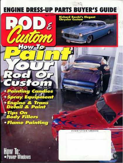 Rod & Custom - April 1997