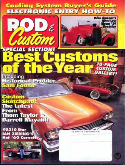 Rod & Custom - July 1997