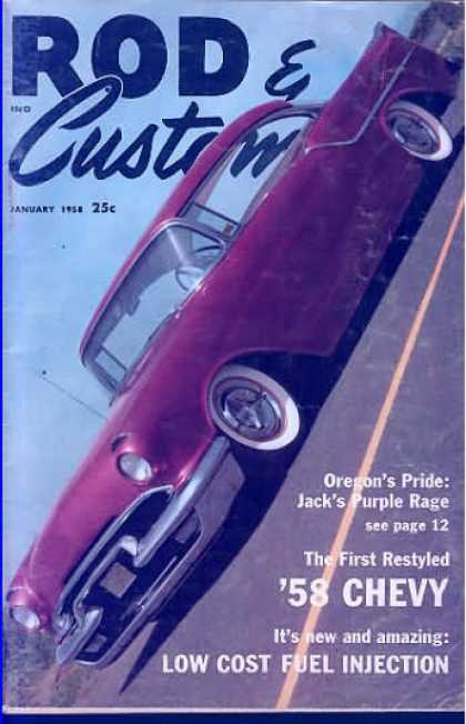 Rod & Custom - January 1958