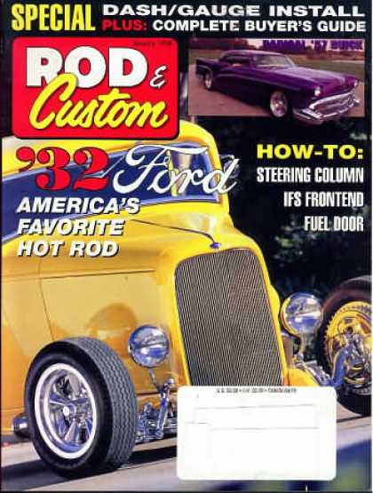 Rod & Custom - January 1998