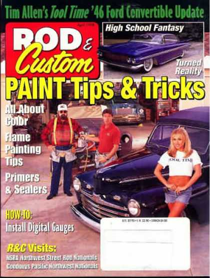 Rod & Custom - April 1998