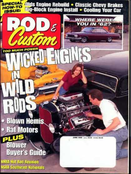 Rod & Custom - June 1998