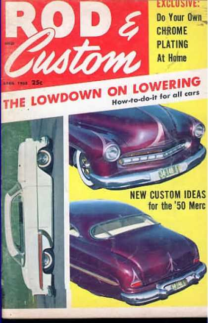 Rod & Custom - April 1958