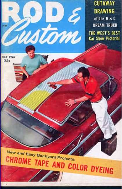 Rod & Custom - May 1958