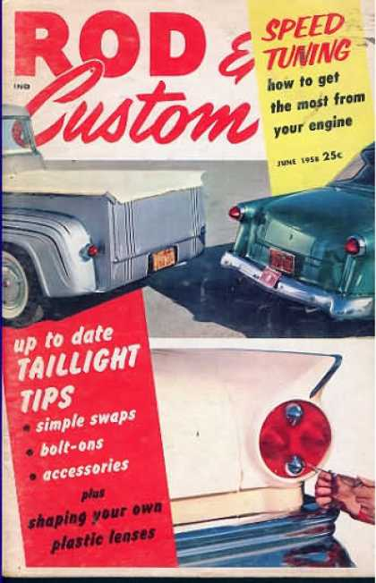 Rod & Custom - June 1958
