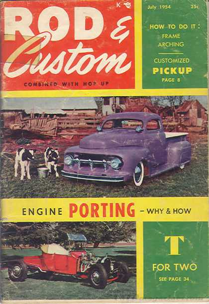 Rod & Custom - July 1954