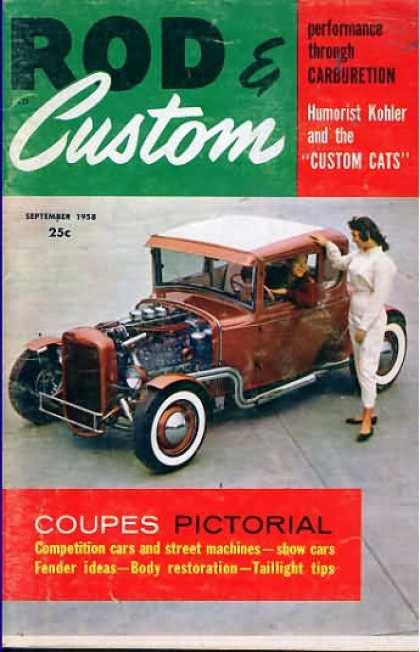Rod & Custom - September 1958