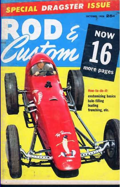 Rod & Custom - October 1958