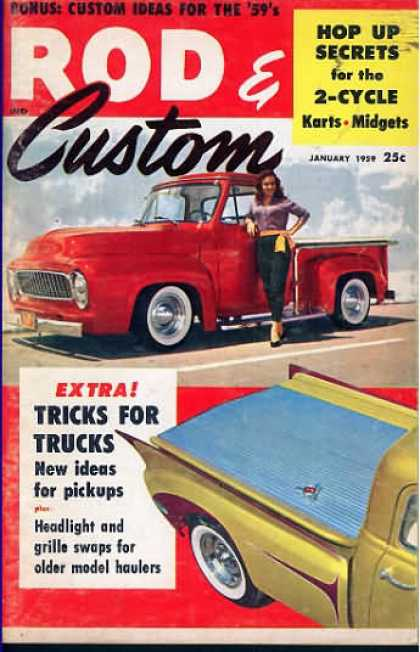 Rod & Custom - January 1959