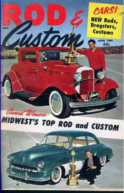 Rod & Custom - April 1959