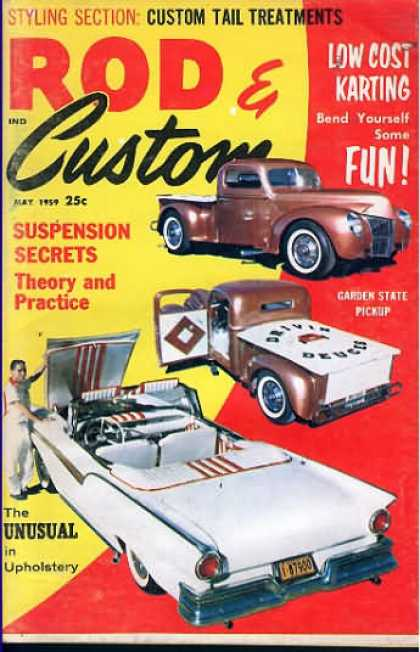 Rod & Custom - May 1959