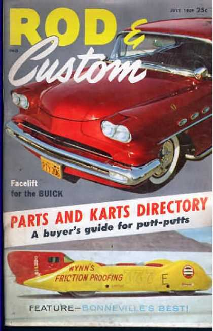 Rod & Custom - July 1959