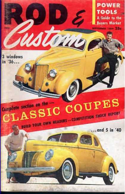 Rod & Custom - September 1959