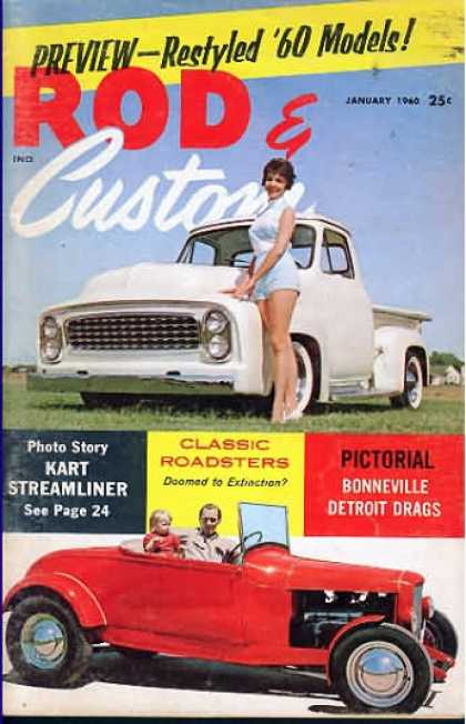 Rod & Custom - January 1960
