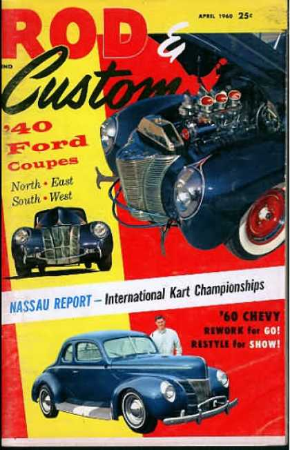 Rod & Custom - April 1960
