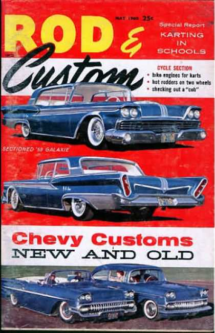 Rod & Custom - May 1960