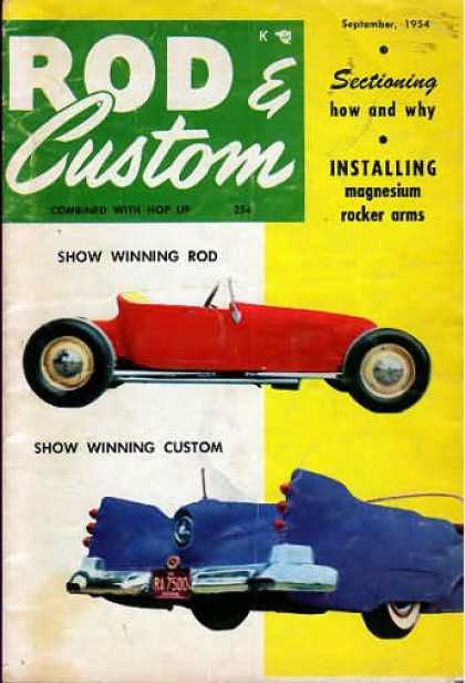Rod & Custom - September 1954