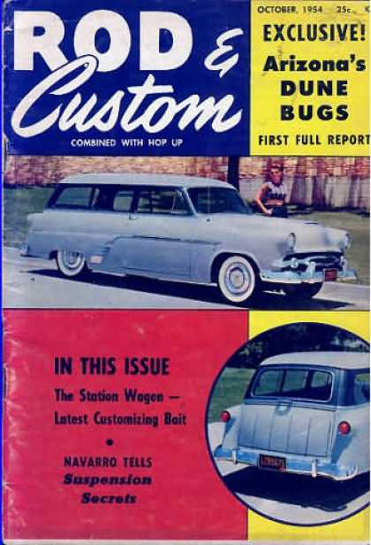 Rod & Custom - October 1954