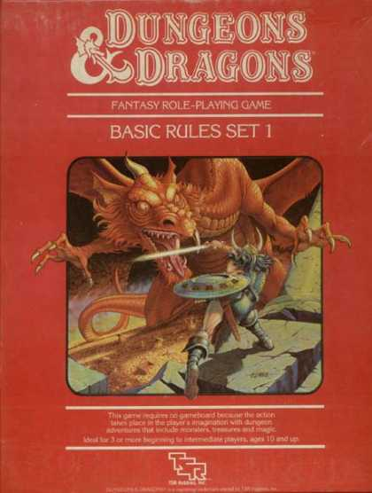 Role Playing Games - Dungeons & Dragons Basic Rule Set (revised)