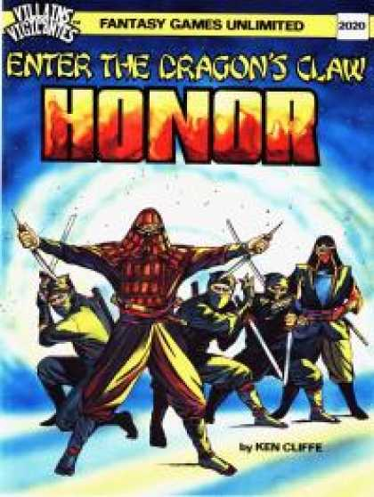 Role Playing Games - Enter the Dragon's Claw: HONOR