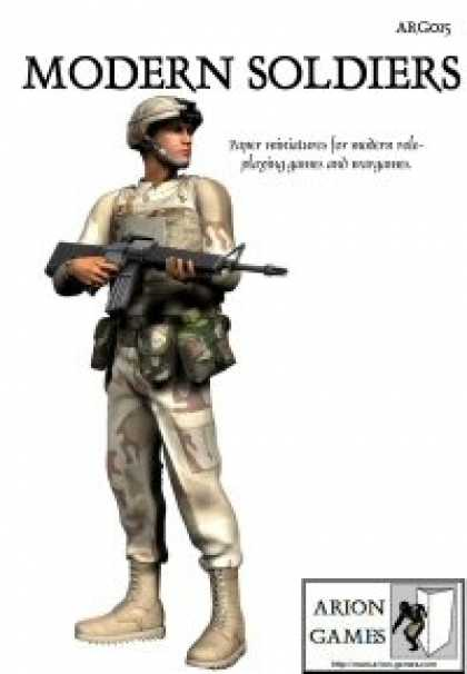 Role Playing Games - Modern Soldiers Set