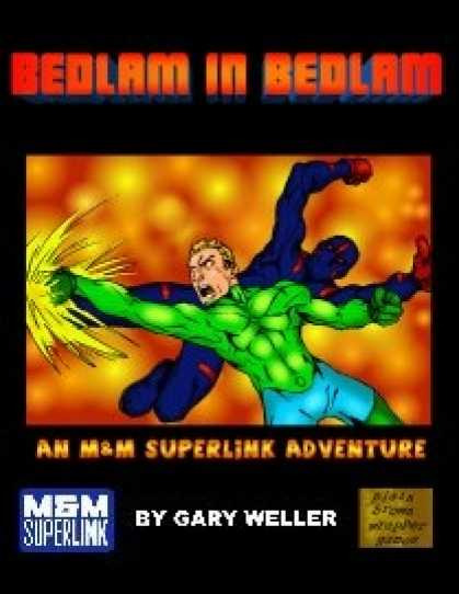 Role Playing Games - Bedlam in Bedlam: A Superlink Adventure