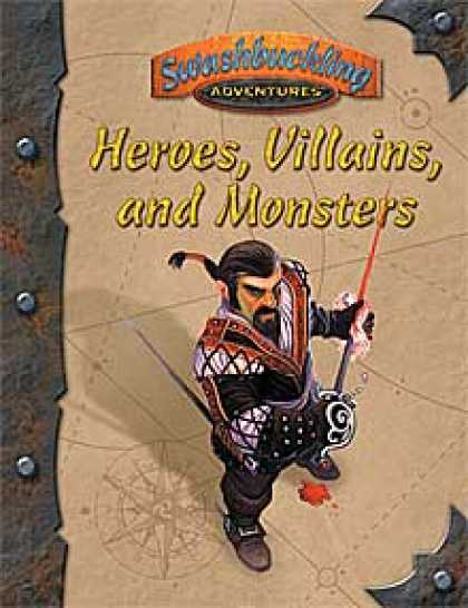 Role Playing Games - Heroes, Villains & Monsters