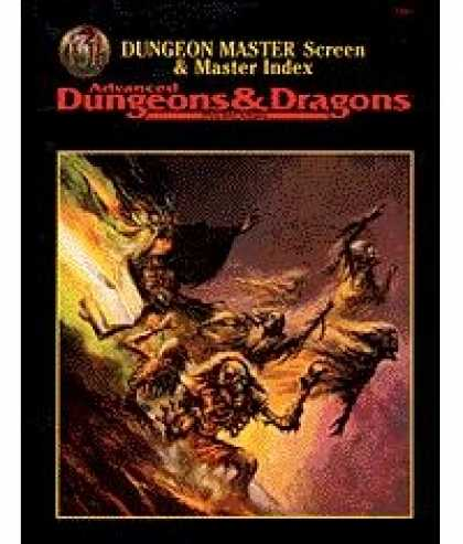 Role Playing Games - DM Screen & Master Index