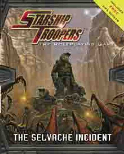 Role Playing Games - The Selvache Incident + GM Screen