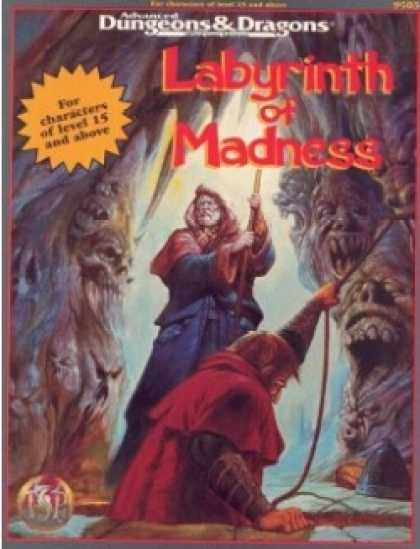 Role Playing Games - Labyrinth of Madness