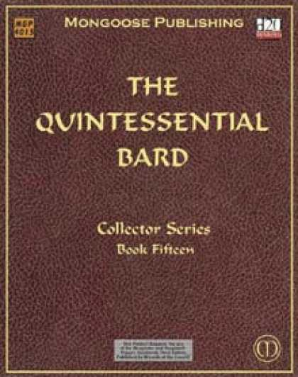Role Playing Games - The Quintessential Bard
