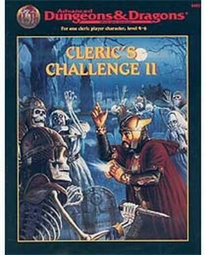 Role Playing Games - Cleric's Challenge II