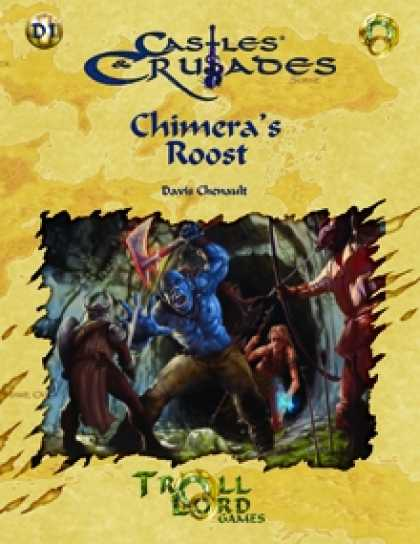 Role Playing Games - C&C D1 Chimera's Roost